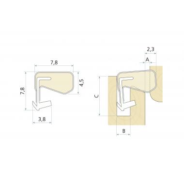 Уплотнитель вспененный Schlegel Q-Lon (QL 3131)