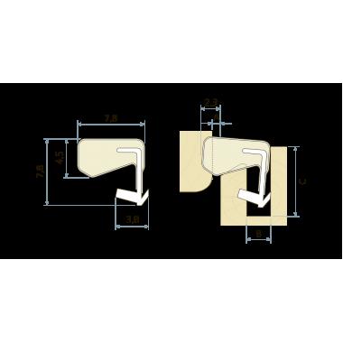 Уплотнитель Schlegel Q-Lon (QL 3070)